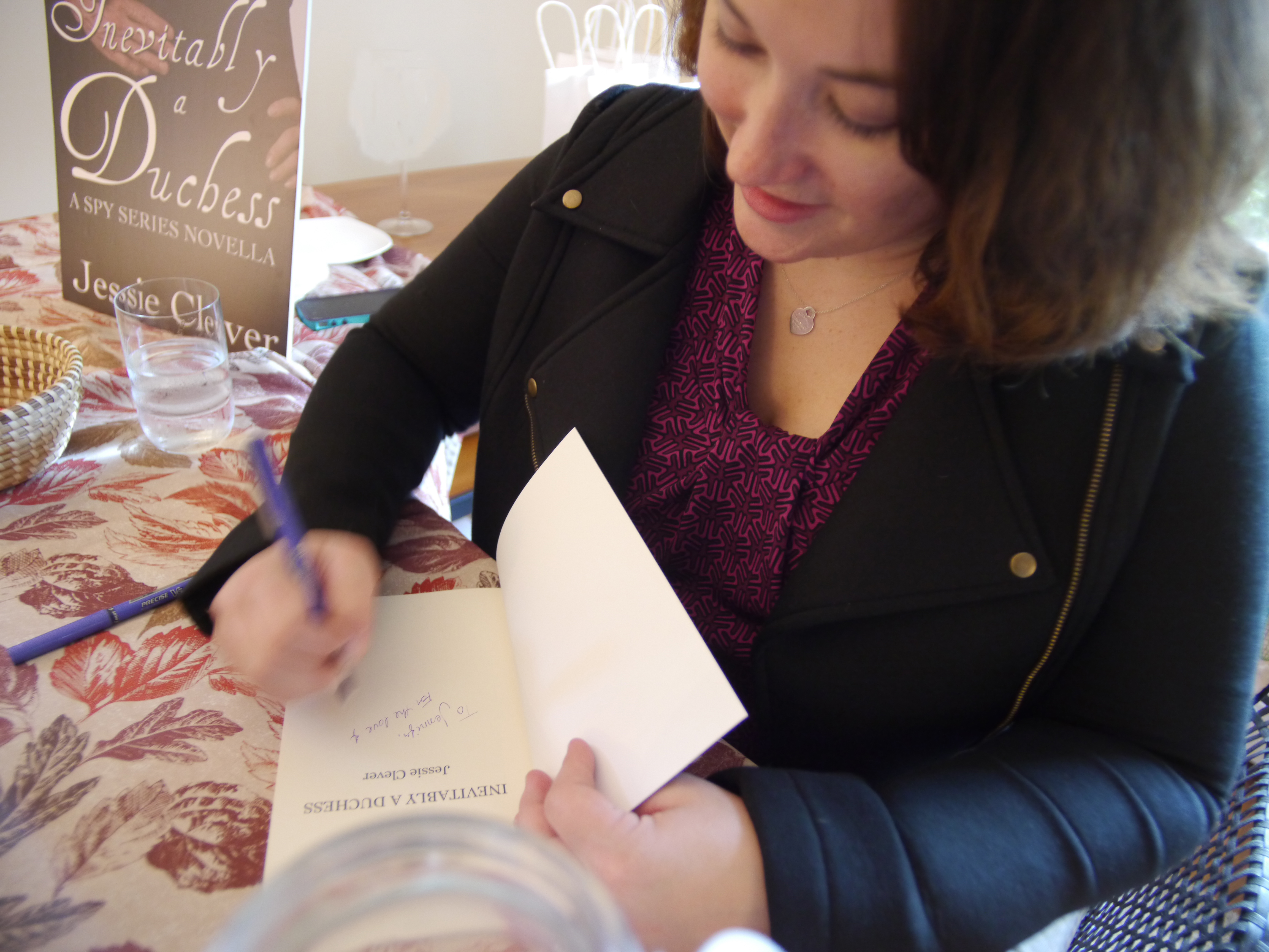 JessieCleverBookSigning