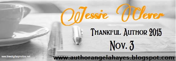 Thankful Author Jessie Clever