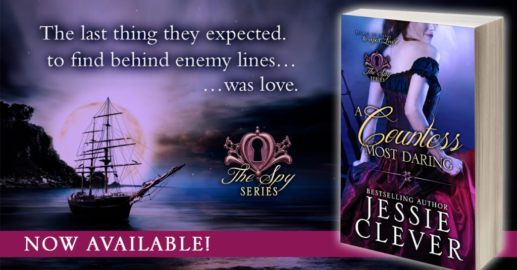 A Countess Most Daring, a Regency romance from Bestselling Author Jessie Clever