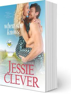 When She Knows, a contemporary romance by Jessie Clever