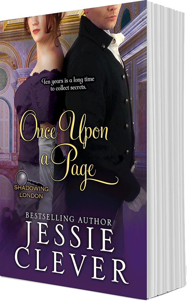 Once Upon a Page, coming September, 2017, by Jessie Clever