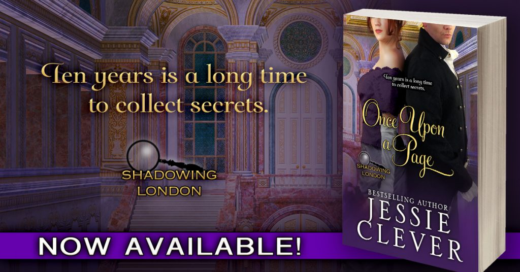 Once Upon a Page, a Sweet Historical Romance