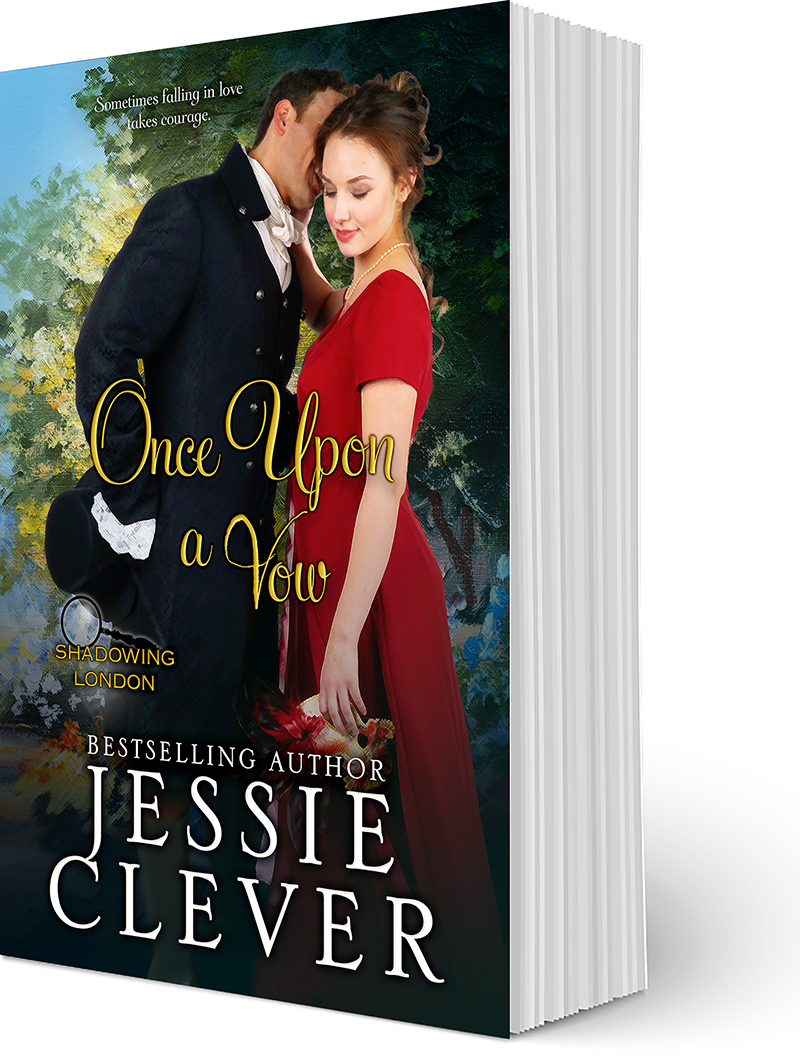 Cover Reveal: Once Upon a Vow, a Historical Sweet Romance, Coming March 2018