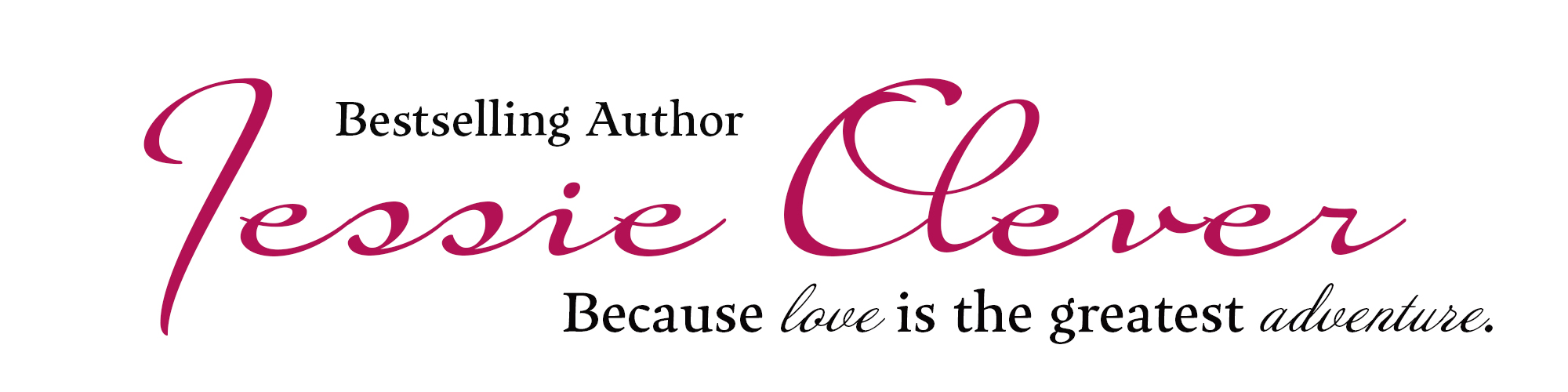Historical and contemporary romance author Jessie Clever
