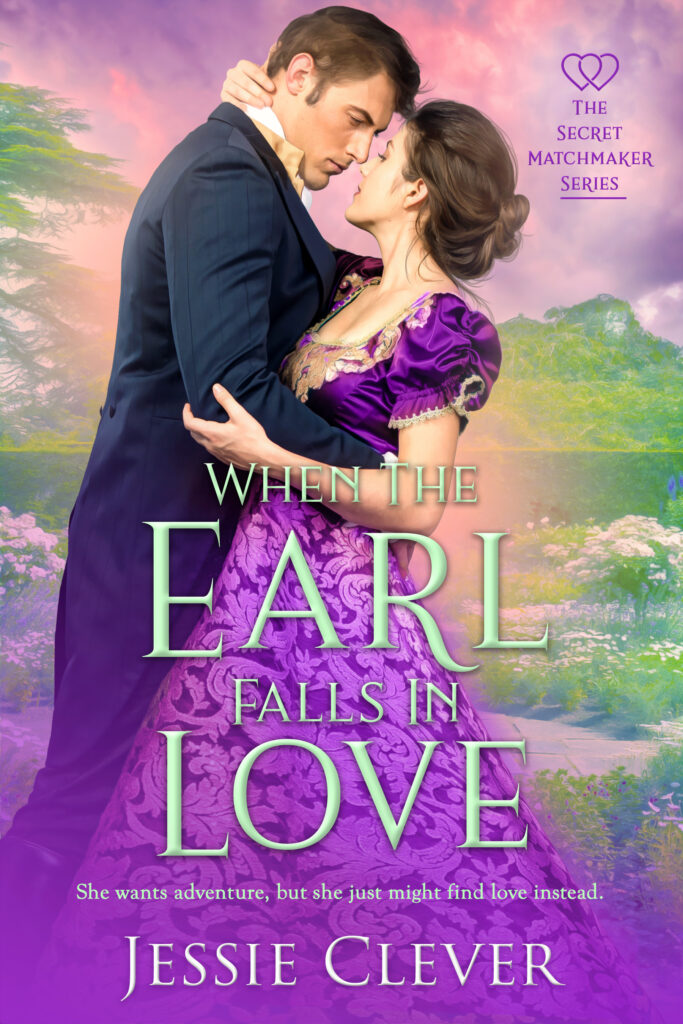 Book cover for When the Earl Falls in Love by Jessie Clever